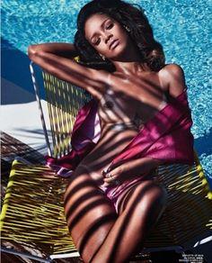 Rihanna editorial for LIU MAGAZINE.