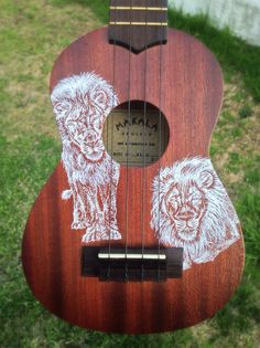 Lion's Pride Illustrated Makala Ukulele by RhythmicRepitition