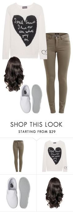 """Just graduated, fresh on campus, mm. Fresh out East Atlanta with no manners, damn."" by demibp ❤ liked on Polyvore featuring Vila Milano, Princess Goes Hollywood and Vans"