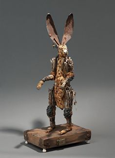 * Dasyurids - Geoffrey Gorman vient du Nouveau Mexique, il travaille avec du bois et des objets trouvés