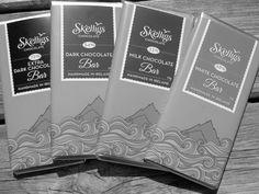 Black and white #skelligschocolatebar  #darkchocolate #milkchocolate #whitechocolate