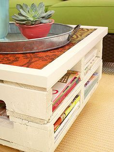 Cheap and Chic Coffee Table