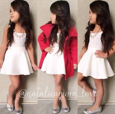 <3 little girl outfit More