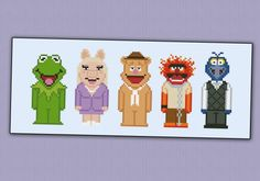 The Muppet Show - Cross Stitch Patterns - Products