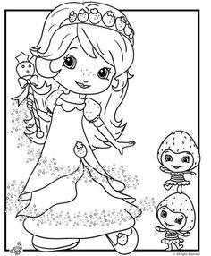 desenho-colorir-da-moranguinho-princesa-linda