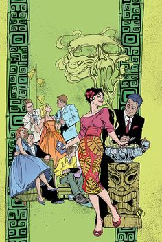 Lady Killer #3 - Art and cover by Joelle Jones