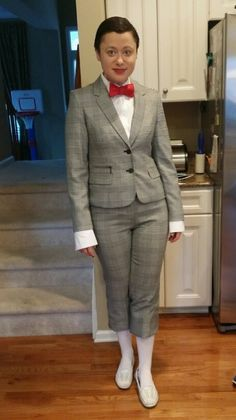 Female peewee herman halloween costume | HAHAHA | Pinterest ...