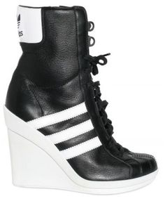 Resultado de imagen para adidas heels Zapatillas De Deporte Con Cuña bbae12bbd52