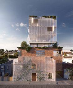 Architecure studio in Melbourne & Paris - Ola Studio Public Architecture, Concrete Architecture, Studios Architecture, Pavilion Architecture, Minimalist Architecture, Interior Architecture, Melbourne, Building Skin, Unusual Buildings