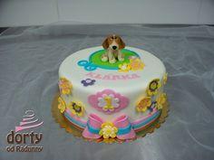 Dorty od Radunny - Fotoalbum - dorty dětské - Dorty k prvním narozeninám Birthday Cake, Food, Photograph Album, Birthday Cakes, Essen, Meals, Yemek, Cake Birthday, Eten
