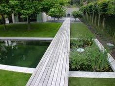 joli point de fuite, jardin contemporain
