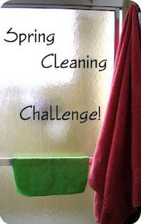 One a day challenge to get your Spring cleaning done.