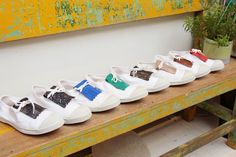 Lookbook Shoes by Bensimon Le Tennis, Collaboration, Fall Winter, Sneakers, Wedding, Shoes, Fashion, Shopping, Fashion Styles