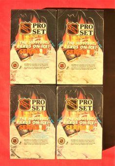 5ef91a81025 4 Box Lot 1990-91 PRO SET Series 2 Hockey Jagr Rookie   Gretzky Belfour  Fedorov