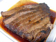 Texas Oven Roasted Beef Brisket