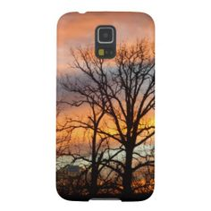 Winter Sunset Case For Galaxy S5