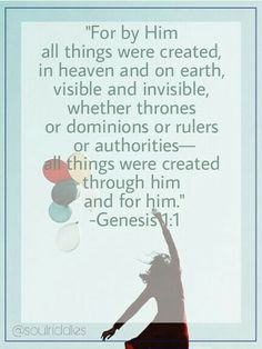 You are loved and created with purpose! Genesis 1, Riddles, Ruler, Woman Quotes, Purpose, Love You, Author, Create, Words