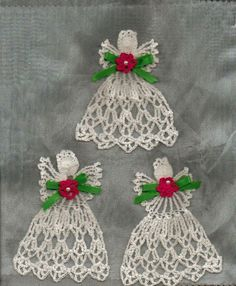 Cute crochet angels, another language but has diagram patterns. Description from pinterest.com. I searched for this on bing.com/images