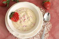 Coconut flour makes a delicious, creamy porridge, especially when coconut milk, coconut oil and fresh strawberries are added! This recipe is easy to make, gluten free, dairy free, egg free, and great as a healthy breakfast or a simple project if you're experimenting with coconut flour.