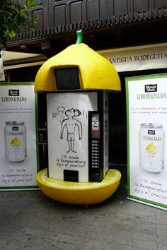 Limon instala máquinas expendedoras sensibles a la temperatura - Si sube la temperatura baja el precio! MarketingNews.es