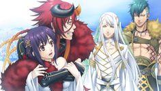 Yui, Loki, Balder & Thor