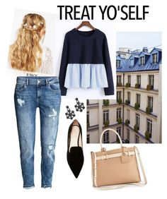 """""""Wenstyle#9"""" by wenstyle ❤ liked on Polyvore featuring ASOS, WithChic, H&M, Kate Spade, Nicholas Kirkwood and Reed"""
