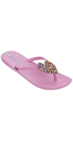 26afa393730fb5 iPanema 2014 Neo Love Kids Pink with Multicolored Heart Flip Flop  iPanema   2014