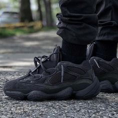 "85be5e5abbbc8 CREP LDN on Instagram  ""Adidas Yeezy 500  Utility Black  Releasing this  Saturday! 🔥 Contact our team to pre-order👇"
