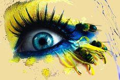 Eyeball Bee Stings by Svenja Jödicke