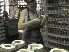 Фарфоровая фабрика Дулёво - YouTube