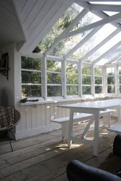 My Dream would be a Greenhouse Retreat.....