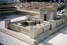 Szenzációs régészeti felfedezés Jeruzsálemben.  A második, vagy Heródes-féle templom rekonstrukciója