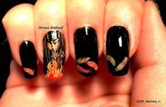 """""""Rise of the phoenix"""" BM410, FUN 7 & 8, C&S 01  #nails #notd #nailart #nailpolish #jindienails #nailstamping #nails2inspire #thenailartstory #craftyfingers #lovemanicure #prettynails #nailartwow #nailporn #naillove #nailitmag #nailartobsessed #nailaddict #nailswag #nailjunkie #nailartoohlala #nailbling #weloveyournailart #barbiefingers #nailpromote #glamorouspumps #iinailsart #amazing_pretty #sandgnails #queennails"""