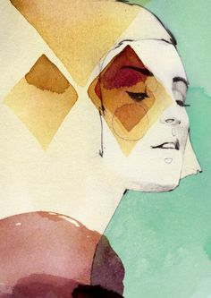 PRISMA by Ekaterina Koroleva, via Behance illustration