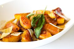 Pan-Fried Pumpkin Gnocchi with Brown Butter Sage... everything about this sounds incredible.    http://www.gojee.com/food/links/pan-fried-pumpkin-gnocchi-with-brown-butter-sage?favorites=true