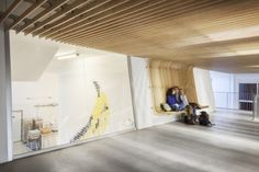 Bruyère High School Cafeteria Refurbishment by SAM Architecture, Versailles – France » Retail Design Blog