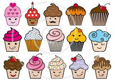Hey, I found this really awesome Etsy listing at http://www.etsy.com/listing/117263703/large-set-of-cute-cupcakes-cake-muffin