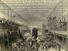 Engraved scenes from Tallis's History and Description of the Crystal Palace, and the Exhibition of the World's Industry in 1851.
