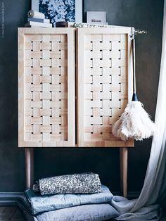 Monica Karlstein and DIY Interior Book: 99 Hacks - willowday Ikea Ivar Cabinet, Ikea Cabinets, Diy Interior, Interior Design, Interior Modern, Ikea Furniture, Furniture Makeover, Furniture Projects, Furniture Design