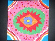 DREAM DRAW CREATE Art Lessons for Children: Radial Symmetry
