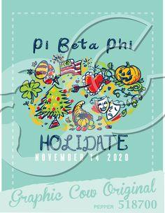 bb5a7ee2da89 Holidate calendar date party egg American flag heart pumpkin shamrock tree  cornucopia