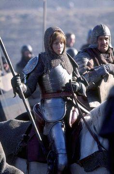 Joan of Arc, played by Leelee Sobieski.