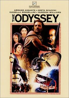 Hallmark Hall of Fame's movie The Odyssey starred Armand Assante, Greta Scacchi, Isabella Rossellini, Bernadette Peters, Vanessa Williams, Christopher Lee, Eric Roberts and Geraldine Chaplin.