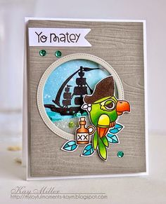 Virginia's View Challenge #12: Shaker Cards |  Spotlight Feature: card by Kay Miller