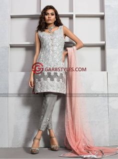 Zainab Chottani Grey and salmon pink shirt Luxury Casual Pret 2016 Price in Pakistan famous brand online shopping, luxury embroidered suit now in buy online & shipping wide nation.. #zainabchottani #zainabchottani2017  #womenfashion's #bridal #pakistanibridalwear #brideldresses #womendresses #womenfashion #womenclothes #ladiesfashion #indianfashion #ladiesclothes #fashion #style #fashion2017 #style2017 #pakistanifashion #pakistanfashion #pakistan Whatsapp:00923452355358 Website…