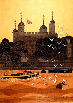 """Tower of London"" by Robert Tavener, 1979"
