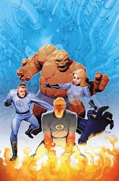 Fantastic Four by Ariel Olivetti