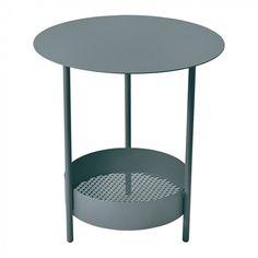 Salsa Pedestal Table Storm Grey 26 Bord | Fermob | Länna Möbler | Handla online