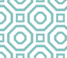 blue geometric pattern