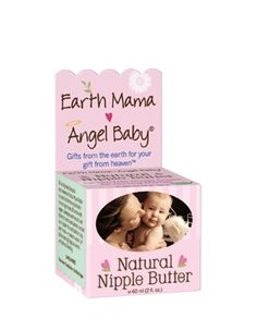 Earth Mama Angel Baby's Natural Nipple Butter is a rich, organic nipple cream, made with naturally healing organic calendula, cocoa butter, shea butter and mango butter. It is clinically tested and safe for both nursing mamas and babies - no need to wash it off before nursing - and it is hospital recommended!